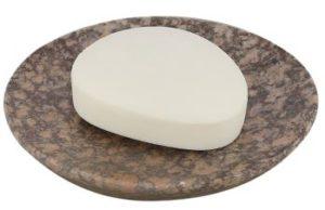 Seifenschale aus Stein, Handgefertigt