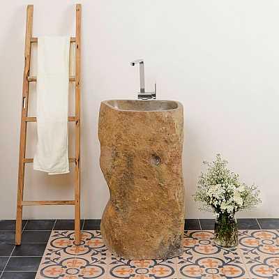 Standwaschbecken Stein