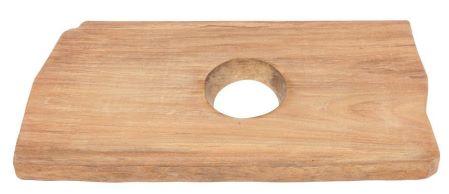 Platte für Aufsatzwaschbecken aus Stein