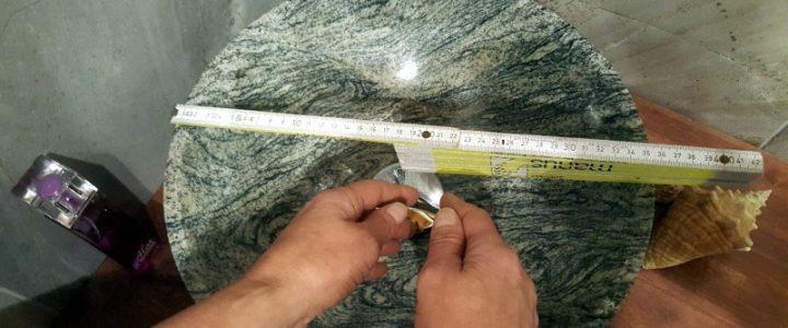 Passende Größe für Aufsatzwaschbecken