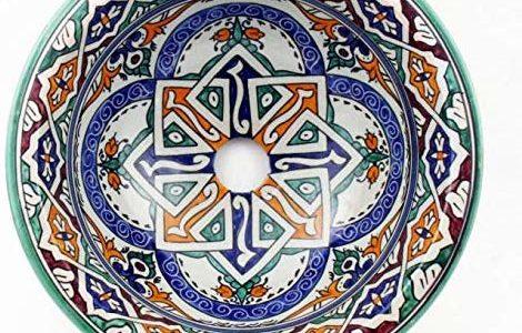 Aufsatzwaschbecken mit orientalischem Flair!